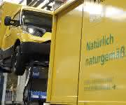 Streescooter Deutsche Post
