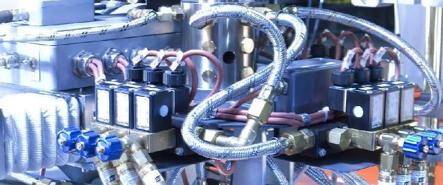 Systemlösung Brennschneidsystem Bürkert