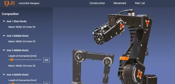 Hannover Messe 2017: Roboter ab 5.000 Euro frei konfigurieren