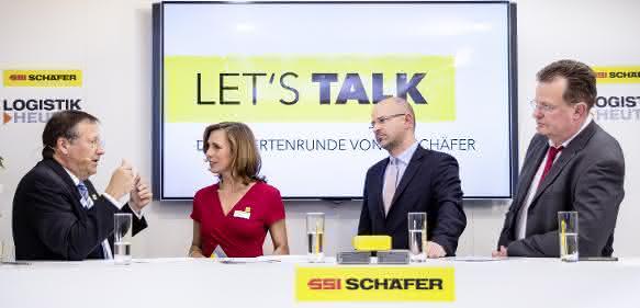 Let's talk – Die Expertenrunde von SSI Schäfer
