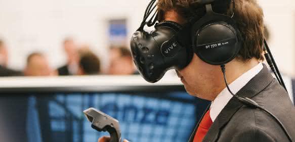 Lenze nutzt virtuelle Realität