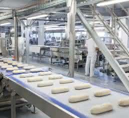 Brotproduktion