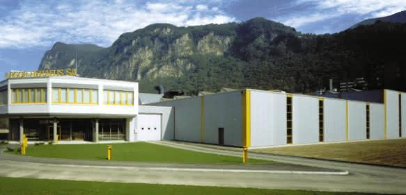 Argor-Heraeus Standort in Mendrisio, Schweiz
