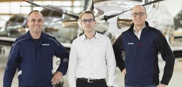 Patrik Odermatt, Walter Duss und Tobias Völker