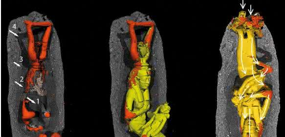 Göttin Isis mit Horuskind