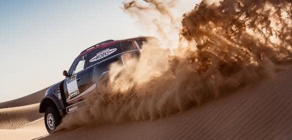 Rallye Dakar 2017: Mini im Sand