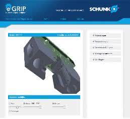Webtool eGrip Schunk
