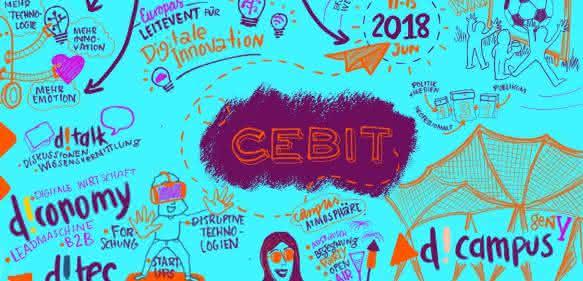 CeBIT 2018: Eine Messe erfindet sich neu