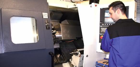 CNC-Fräsen und -Bohren bei ANT
