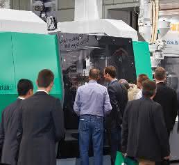 Großmaschine Allrounder 1120 H Arburg
