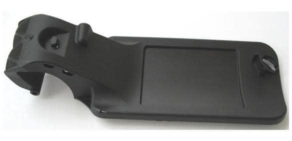 PP mit einer Verstärkung aus Sekundär-Kohlestofffasern ist der Werkstoffe des Scharnierarms. (Bild: Wipag)