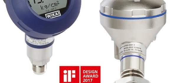 Der Prozesstransmitter UPT-2x von WIKA ist mit dem iF-Design-Award 2017 ausgezeichnet worden.