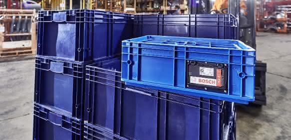 Smarte Behälter: Projekt SaSCh -  Transport von Waren transparenter gestalten