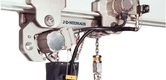 JDN-Druckluft-Hebezug Profi 2 TI