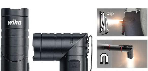 Wiha-Taschenlampe für Profis