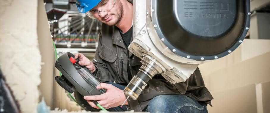 Fraunhofer BladeMaker Werkzeugform prüfen