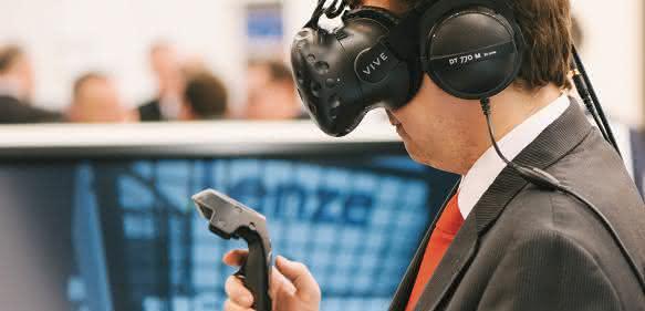 Lenze Virtual Reality