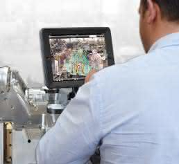 Augmented Reality-Anwendung in der BMW Group Produktion