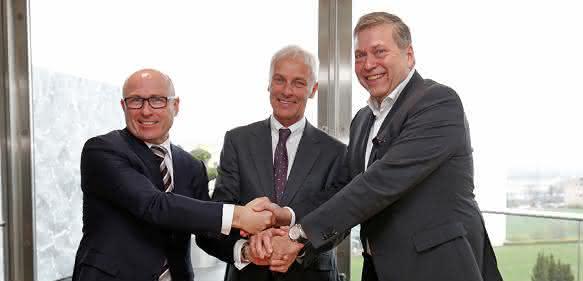 """Volkswagen; Skoda und Tata Motors unterzeichnen """"Memorandum of Understanding"""""""