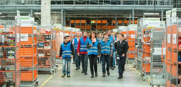 BVL Tag der Logistik 2016 Zalando Erfurt