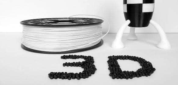 ABS-Filamente mit teils sehr unterschiedlichen Eigenschaften ermöglichen den 3D-Druck in neuen Anwendungen. (Bild: Elix)