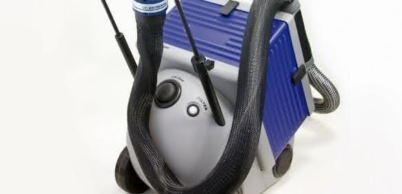 Mobile elektrostatische Reinigung in kompakter Bauweise. (Bild: Eschrich)