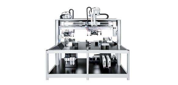 Industrie 4.0: Parallele Motorblockmontage