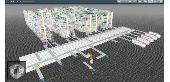 Swisslog SynQ 3D Visualization