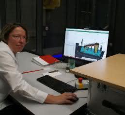 Manuela Hausch, Leitung Messtechnik Car Body Allgaier Automotive
