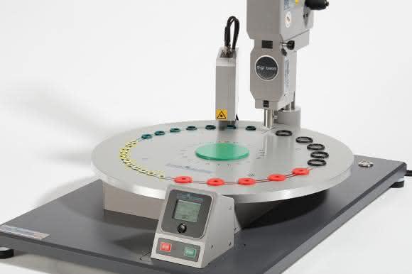 Die Härteprüfeinrichtung BarOtation reduziert den Bedienereinfluss auf ein Minimum und sorgt so für exakte, reproduzierbare Ergebnisse.