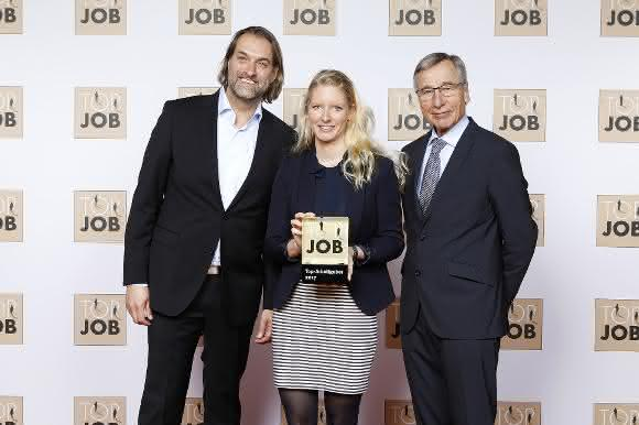 Verleihung des Top Job-Gütesiegels 2017