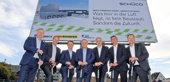 SSI Schäfer Schüco Spatenstich
