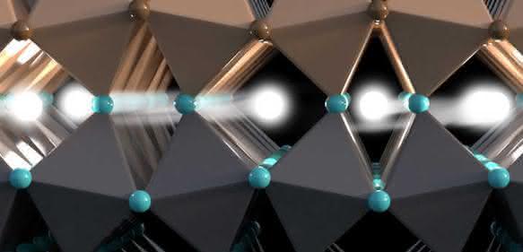 Diese Grenzschicht erlaubt den Transport von Information über den Drehimpuls von Elektronen. (Bild: Christoph Hohmann / NIM)