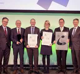 Audi Fahrerloses Transportsystem  Logistik Award 2017