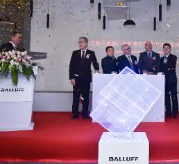 Eröffnungsfeier Erweiterungsbau Balluff China