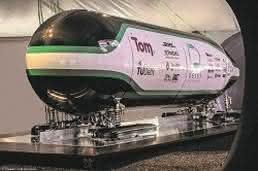 Hyperloop Pod der TU Delft