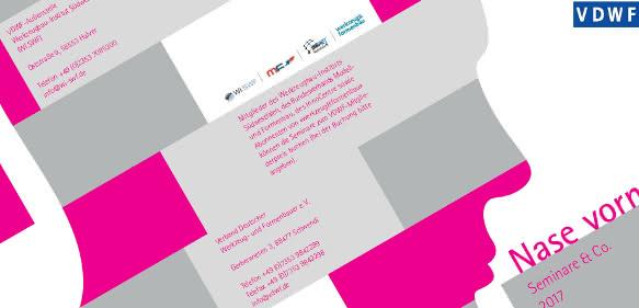 Seminar- und Arbeitskreisbroschüre 2017 des Verbands Deutscher Werkzeug- und Formenbauer
