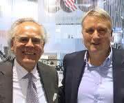 Dr. Hans J. Langer und Dr. Peter Oberparleiter