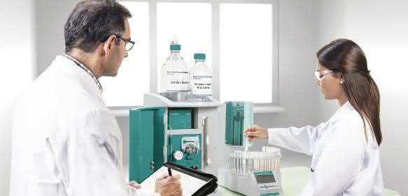 Der Eco IC eignet sich für die Bestimmung von Anionen, Kationen und organischen Säuren, als Einstiegsgerät aber auch für die Ausbildung in Betrieben und Hochschulen.
