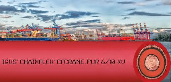 Chainflex 6/10kV Motorleitung von Igus