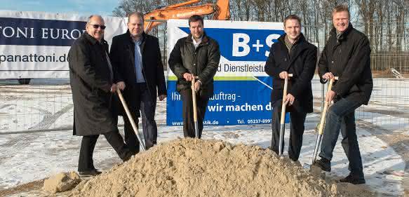 B+S Spatenstich Borgholzhausen