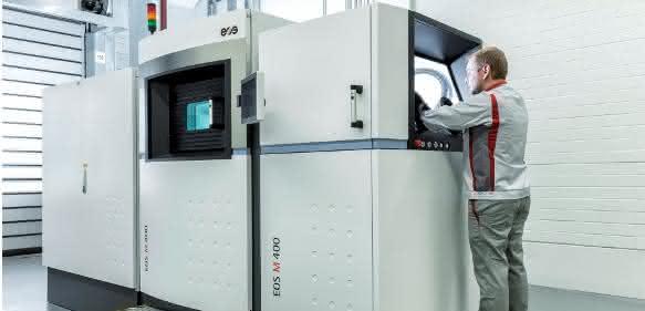 Additive Fertigung: Audi geht Partnerschaft mit EOS ein