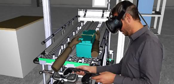 Virtual Reality: VR für den industriellen Einsatz