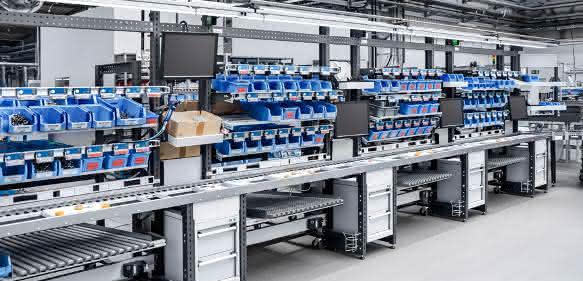 Bott Avero-Arbeitsplatzsystem-Logimat