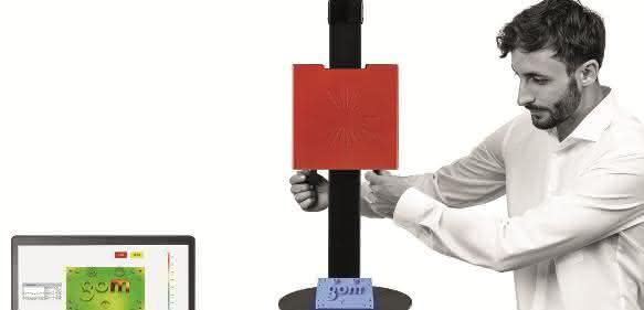 Professioneller Einsatz der 3D-Messtechnik soll verstärkt Thema in Ausbildung und Studium werden. (Bild: Gom)