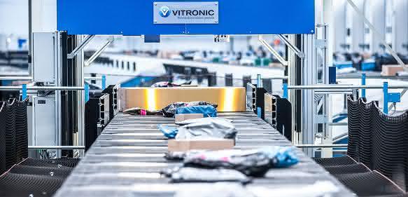 Vitronic Auto-ID DWS-System