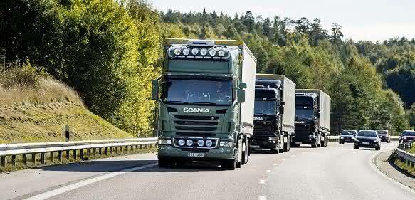 Scania Platoon