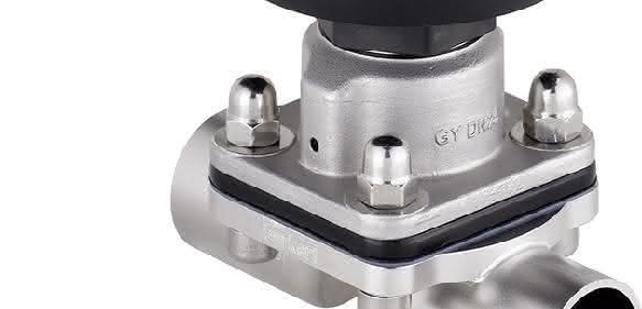 Bürkert ergänzt sein Membranventil-Angebot um ein elektromotorisches Absperr- sowie Regelventil.