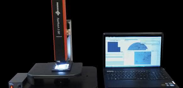 Das Mikroskop Pamas FastPatch 2 GO analysiert Partikel auf Filteroberflächen und liefert Angaben zur Länge und zur Breite jedes einzelnen Partikels.