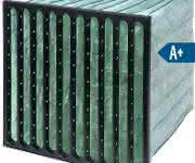 Feinststaubfilter nach neuer Norm können auch energieeffizient arbeiten. (Bild: Camfil)
